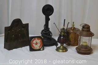 misc antique and vintage items