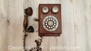 Old Vintage Wall Phone - Western Electric