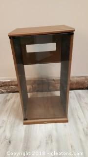 Stereo Cabinet With Glass Front