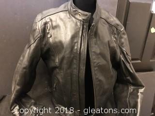 X-Element XL Leather Protective Motorcycle Jacket