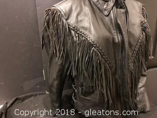 Medium Flared Motorcycle Jacket