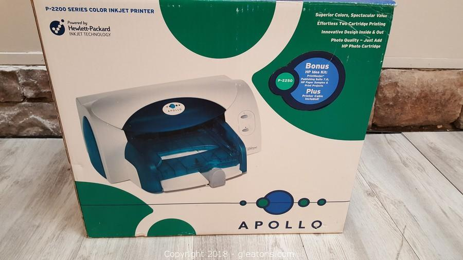 APOLLO P-2200 PRINTER 64 BIT DRIVER