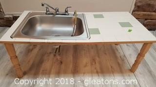 Small Childs Sink Table