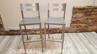 PR Of Heavy Metal Contemporary Style Bar Stool/Workshop
