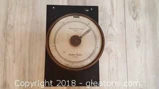 Vintage System Paulin Stockholm Precision Barometer
