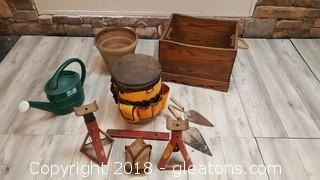Misc Lot Of Yard + Tools