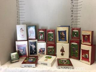 Hallmark Ornaments LOT C