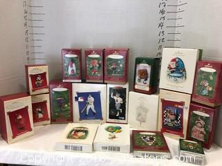 Hallmark Ornaments LOT E