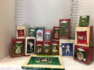 Hallmark Ornaments LOT F