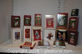 Hallmark Ornaments LOT H