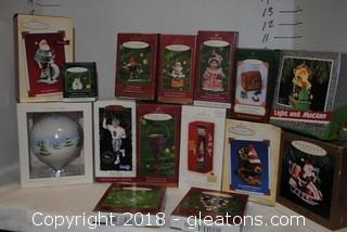 Hallmark Ornaments LOT I