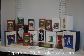 Hallmark Ornaments LOT K