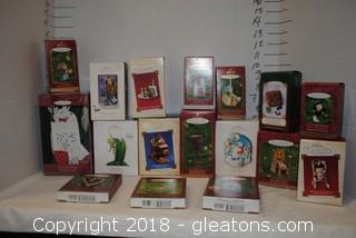 Hallmark Ornaments LOT L