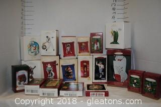 Hallmark Ornaments LOT M