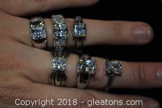 Lot Engagement Rings