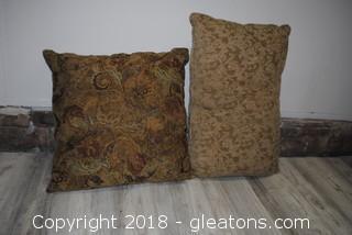Pair Accent Pillows