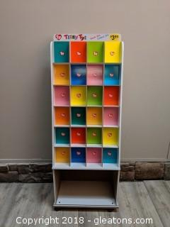 """Commercial """"Teeny Tys"""" Rolling Display 2 Of 3"""