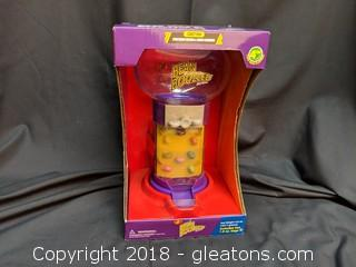 """New in Box """"Jelly Belly"""" Jelly Bean Toy Machine W/2 Bags Of Candy"""