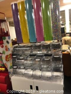 Trade Fixtures Bulk Candy Display Dispensor (A)