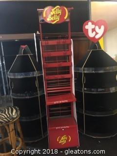 Large Jelly Belly Rack Display