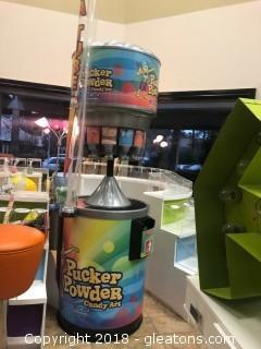 Pucker Powder Tower Dispensor