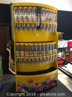 Commercial M & M Retail Display and Dispensor