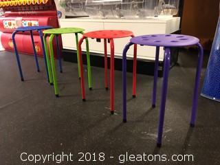 Set of Four Norwood Children's Chairs