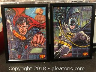 Framed Jelly Belly Marvel Posters