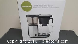 "Bonavita ""New In Box"" Glass Coffee Brewer"