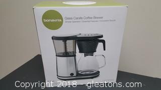 "Bonavita ""New In Box"" Glass Coffee Brewer 8 Cup"