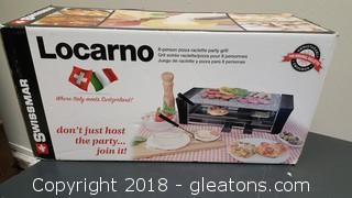 Locarno 8 - Person Pizza Party Grill By: Swissmar