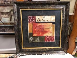 13x13 'Mark 9:23 Definition Of Believe'
