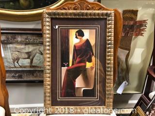 """14""""x21"""" Imaged Framed"""