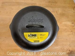 Lodge Top Quality Cast Iron Cover New