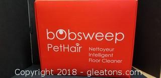 Brand New Bobsweep Pethair Robotic Floor Cleaner