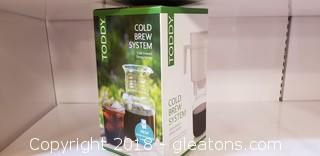 """Toddy"" Cold Brew System ""New In Box"" (A)"