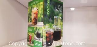 """Toddy"" Cold Brew System ""New In Box"" (B)"