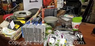 Cook + Tea Lot Canning Cast Iron Cookbooks