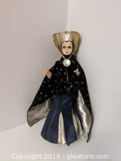 Mann 1986 Evil Queen Doll Poseable Legs + Arms