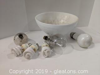 Light Dome Vintage Bulbs Lot