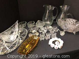 Antique And Vintage Crystal And Glass