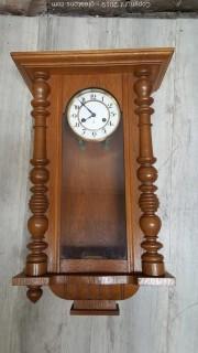Original Gustav Becker Wall Clock