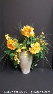 Wall Tin Wall Sconce/Flower Arrangement