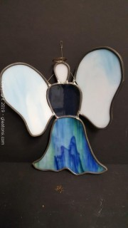 Stain Glass Angel Wall Hanging
