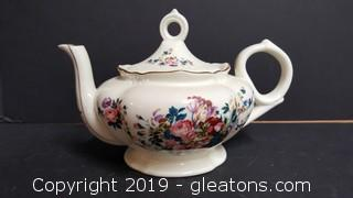 "Lefton ""1999"" Musical Tea Pot Playing ""Tea For Two"""