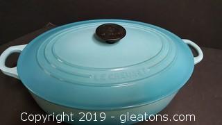 5qt. Le Creuset Dutch Oven Bakeware/Oval