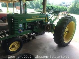 1941 John Deere B Tractor Puller