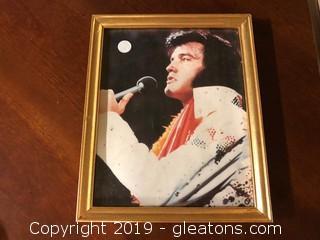 Framed Print Of Elvis Presley
