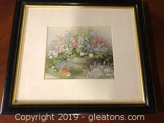 Framed Nature Print