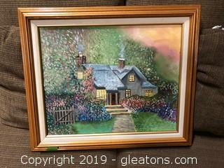 Framed Canvas Art